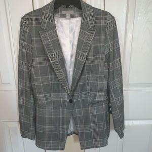 H&M Plaid Suit Blazer
